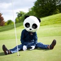 IPanda Auf Dem KB Golfturnier